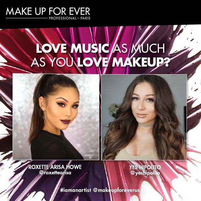MUFE X UNIVERSAL RECORDS MUSIC VIEWING GIVEAWAY